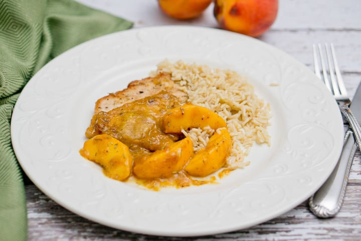Rosemary Peach Pork Tenderloins