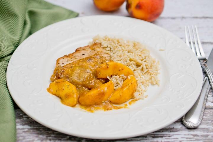 Rosemary Peach Pork Tenderloins