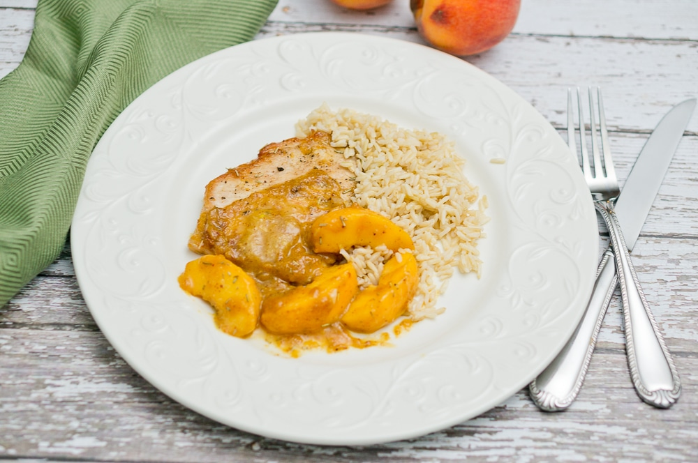 Rosemary Peach Pork Tenderloin