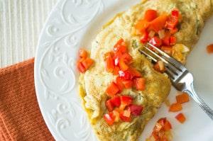 Omelet Italian Style