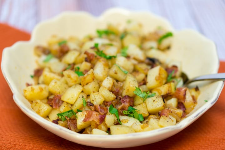 Pan Fried Potatoes (Bratkartoffeln)