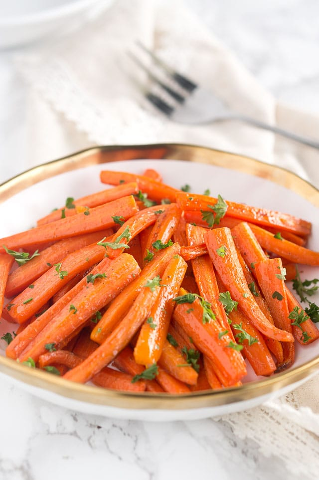 roasted honey glazed carrots paleo delicious meets healthy