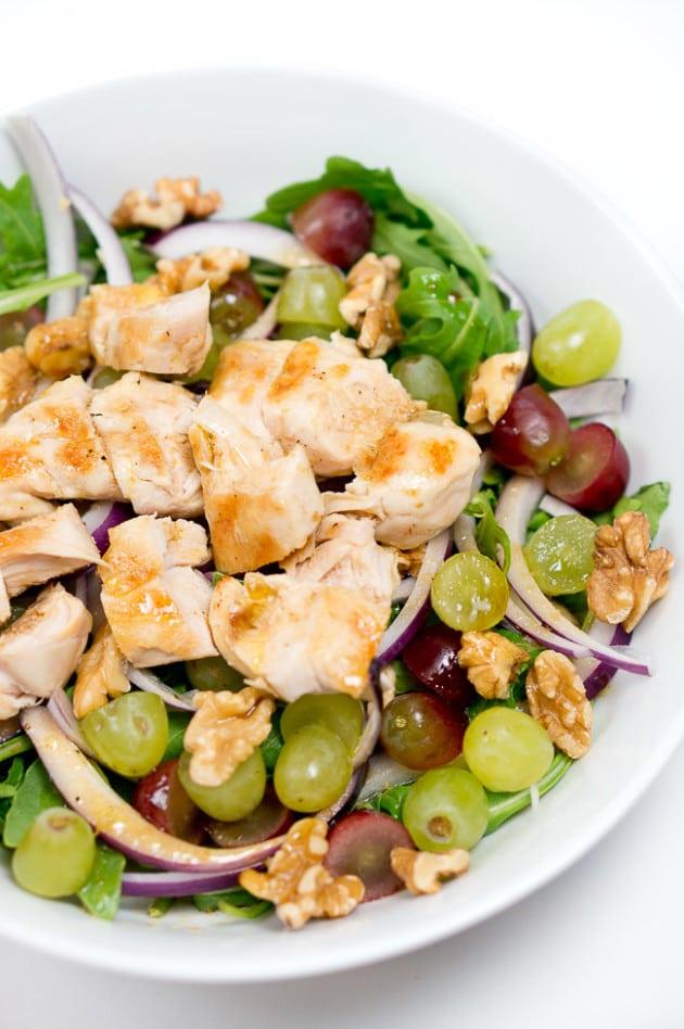 chicken arugula salad