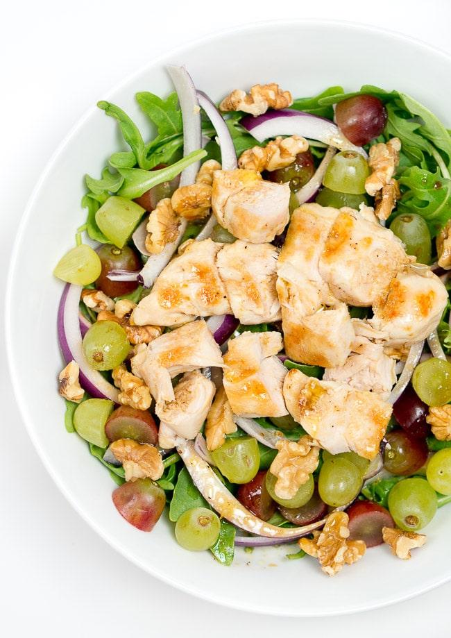 Grilled Chicken Arugula Salad