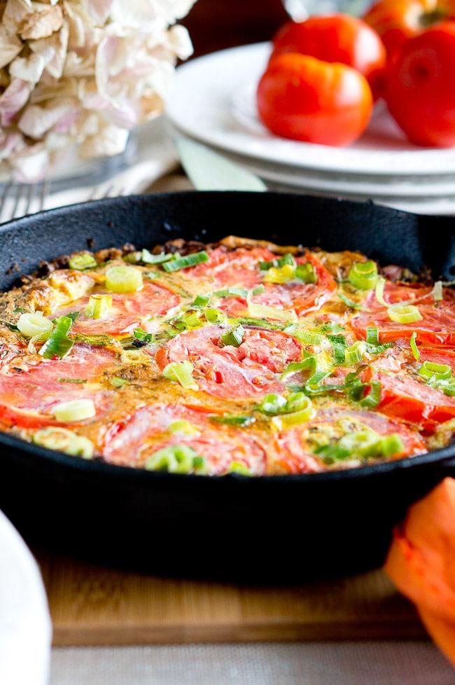 tomato frittata recipe