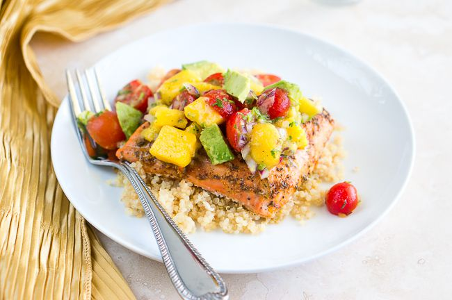 Blackened Salmon with Mango Avocado Salsa-3