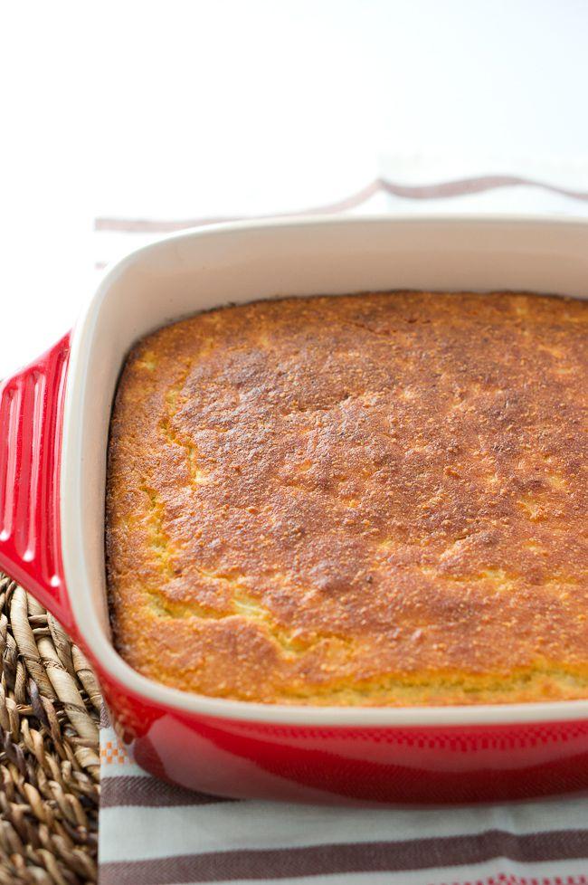 Cornbread (gluten free, grain free) - a classic dish for the holidays! This gluten free cornbread is great for cornbread stuffing for Thanksgiving.