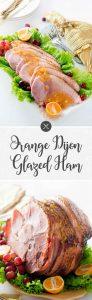 Orange Dijon Glazed Ham