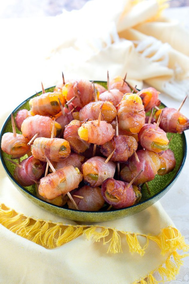 Bacon Wrapped Apricots with Jalapenos-1