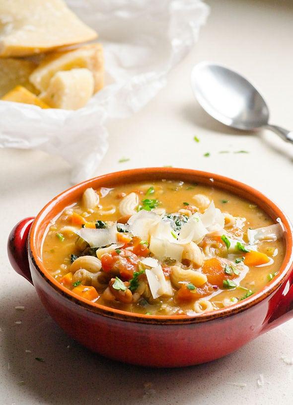 creamy minestone soup