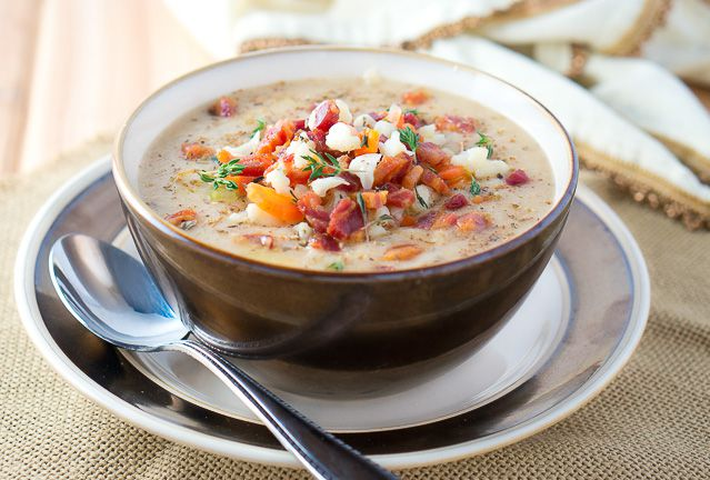 Paleo Cauliflower Soup