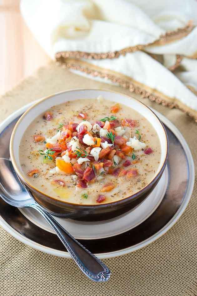 Easy Cauliflower Soup-8-2