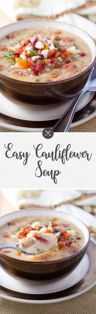 Easy Cauliflower Soup