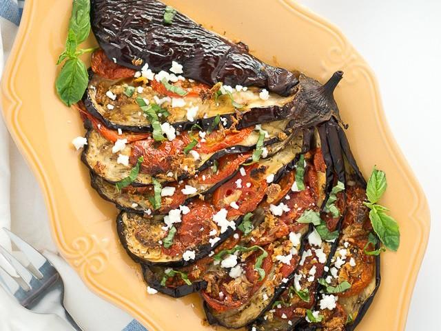 Roasted Eggplant Fan