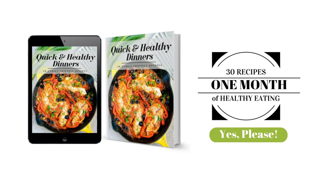 Recipes forOne Month of Healthy Eating