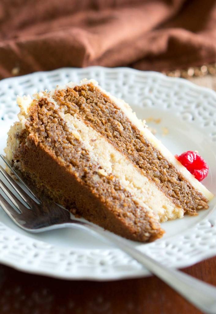 Flourless Walnut Cake Recipe