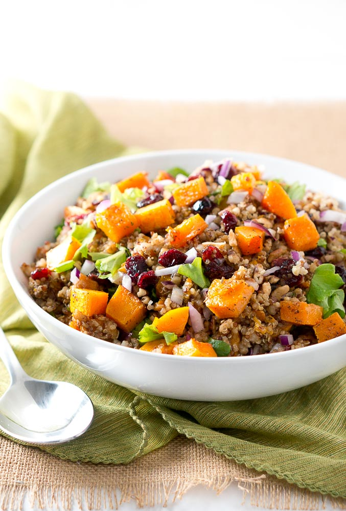 Harvest Butternut Squash Quinoa Salad