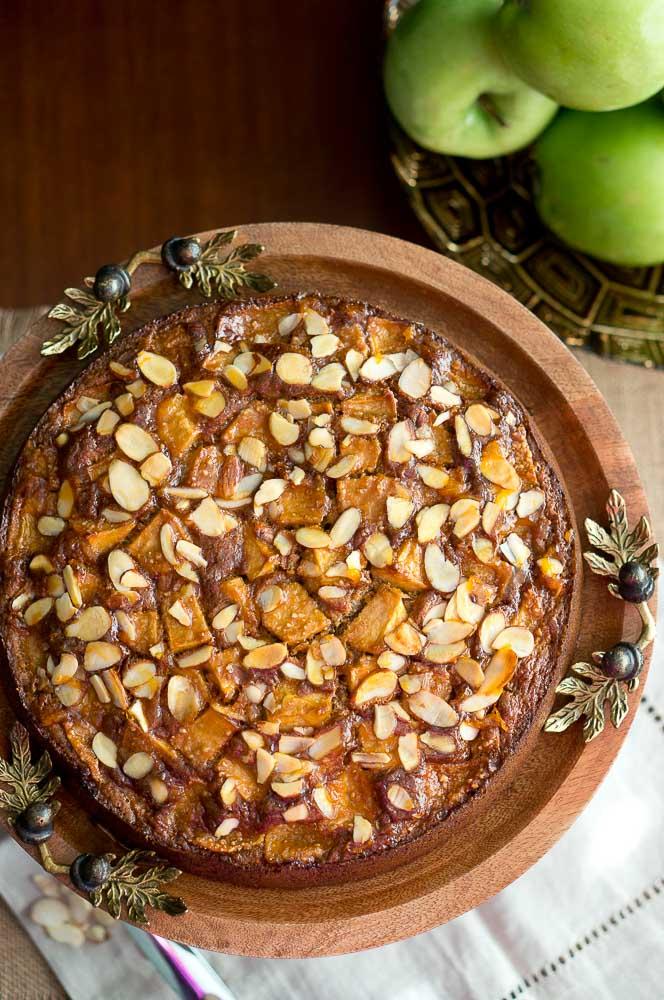 Apple Almond Cake Paleo Gluten Free Delicious Meets Healthy