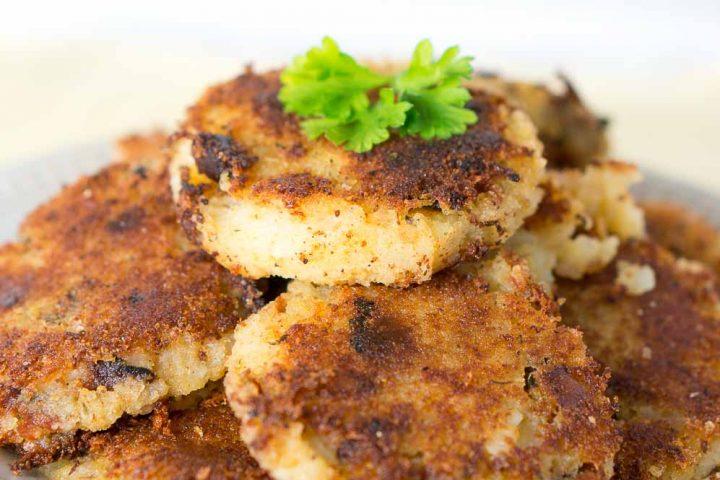 Leftover Mashed Potato & Bacon Patties