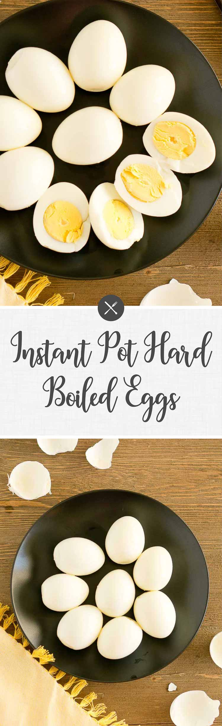 These easy Instant Pot Hard Boiled Eggs cook in 15 minutes. They cook perfectly every time and are super easy to peel. Perfect for snacks or appetizers. #instantpot #hardboiledeggs #Easter #thanksgiving #holiday #recipes #breakfast #mealplanning