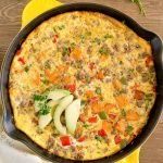 Sweet Potato Sausage Frittata