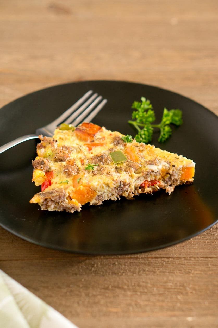 Sweet Potato Sausage Frittata recipe