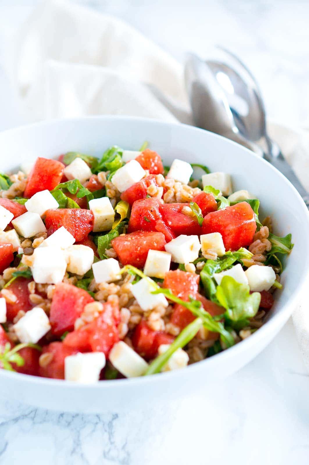 watermelon feta salad recipe delicioous meets healthy. Black Bedroom Furniture Sets. Home Design Ideas