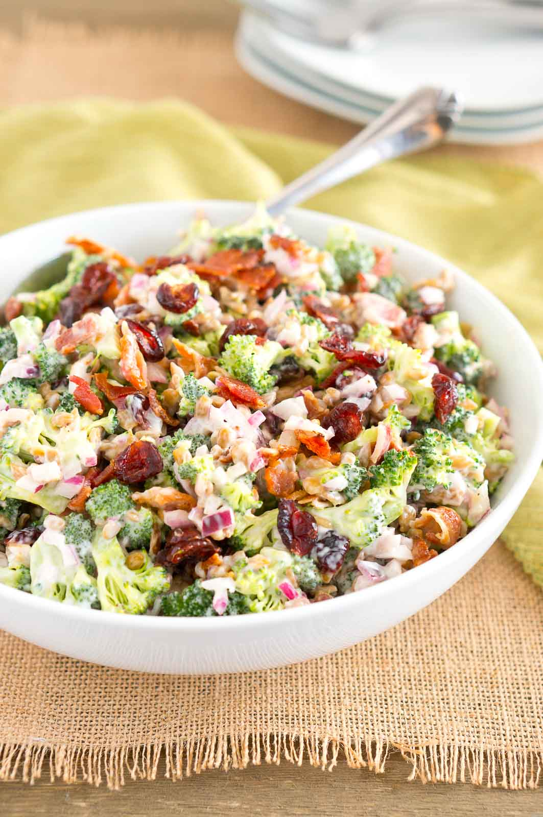 How to make broccoli salad dressing recipe