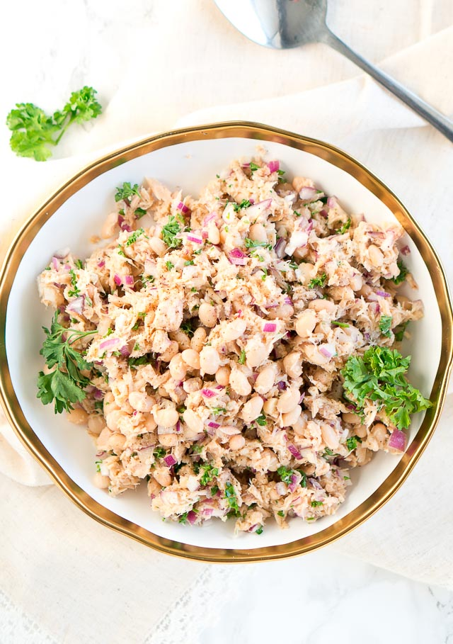 Tuna White Bean Salad