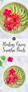 Healing Green Smoothie Bowls
