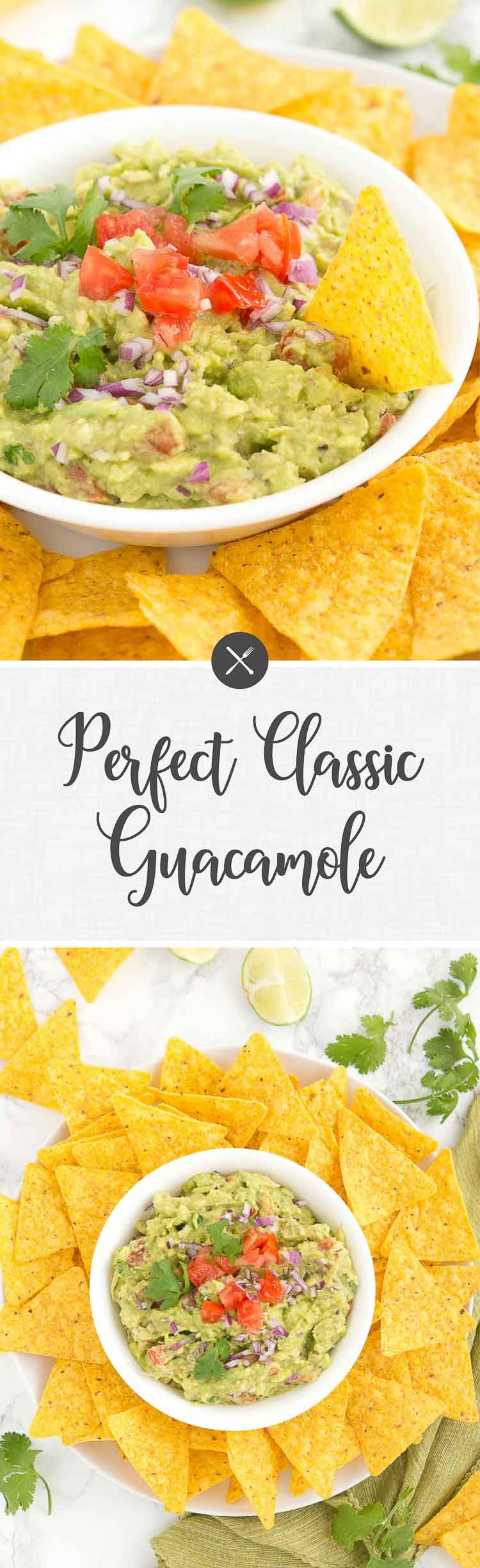 Try this perfect classic guacamole - very easy and quick to make. You will never need another guacamole recipe