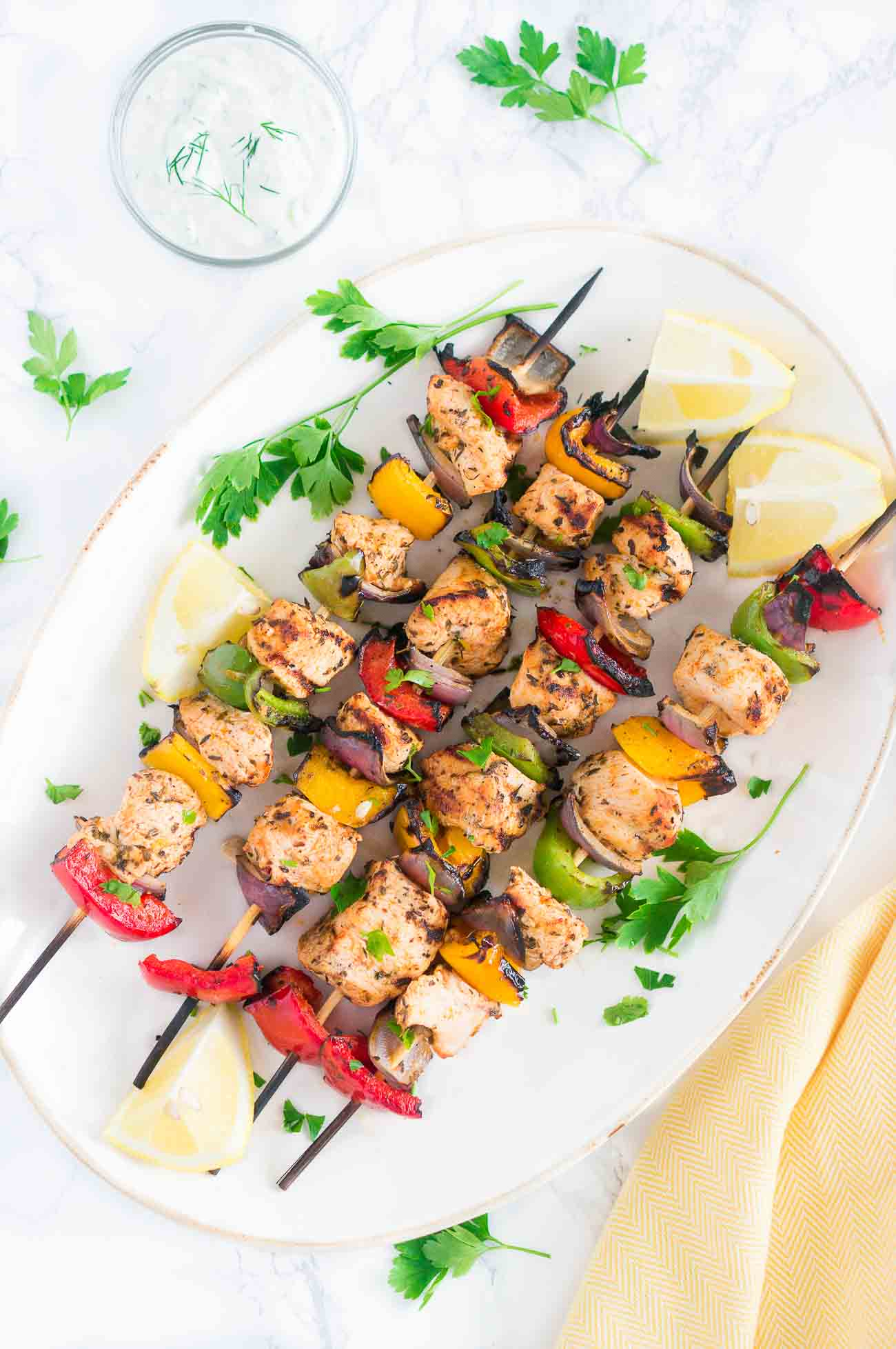 Grilled Mediterranean Chicken Kebabs Delicious Meets Healthy