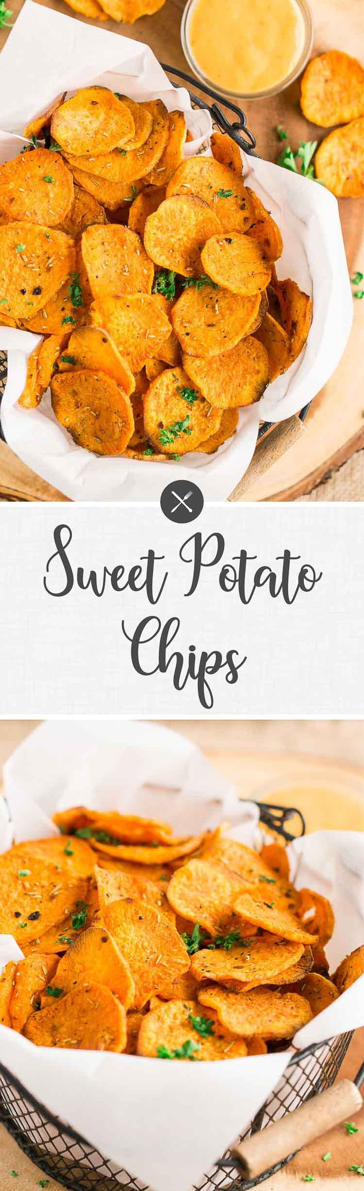 how to make oven baked sweet potato chips