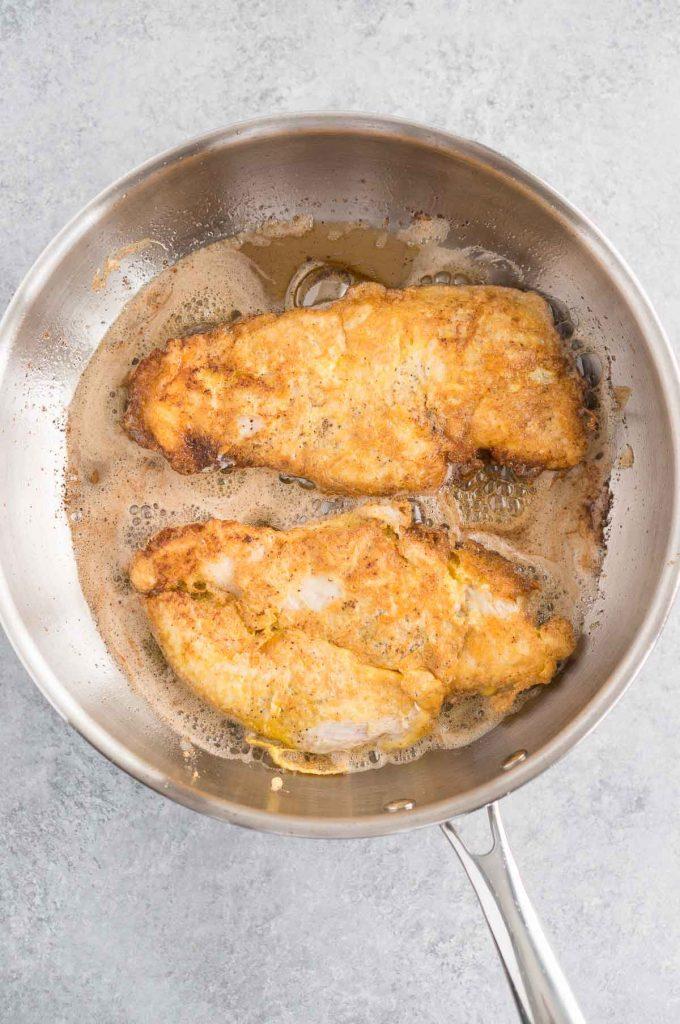 Easy Chicken Francais